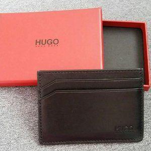 BOSS Hugo Boss Men's Leather WALLET Card Holder